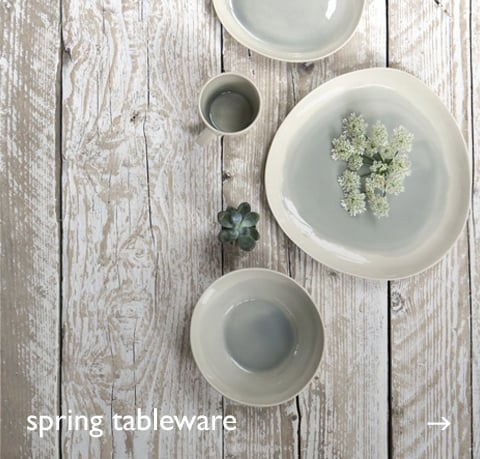 Spring Tableware at Cotswold Trading