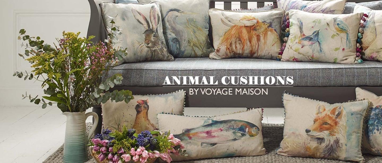 Voyage Maison Animal Cushions