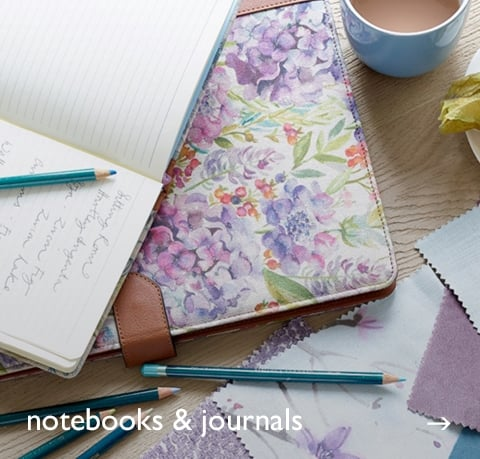 Notebooks at Cotswold Trading