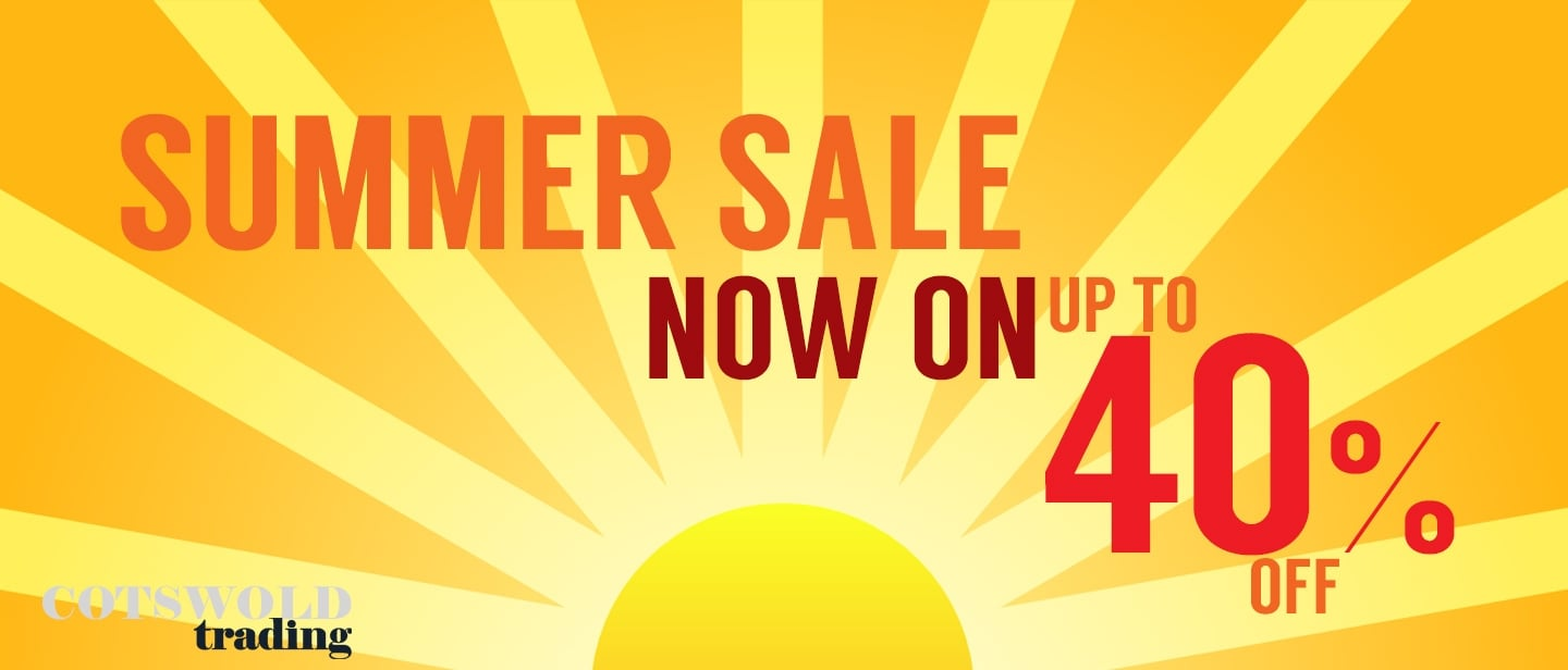 Summer Sale at Cotswold Trading