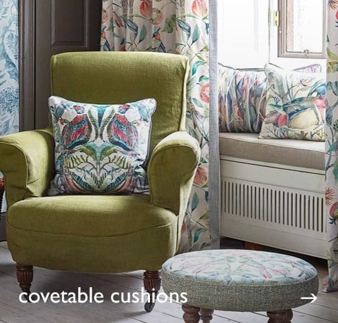 Covetable Cushions at Cotswold Trading