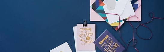 Cards & Wrap Dropdown Promo