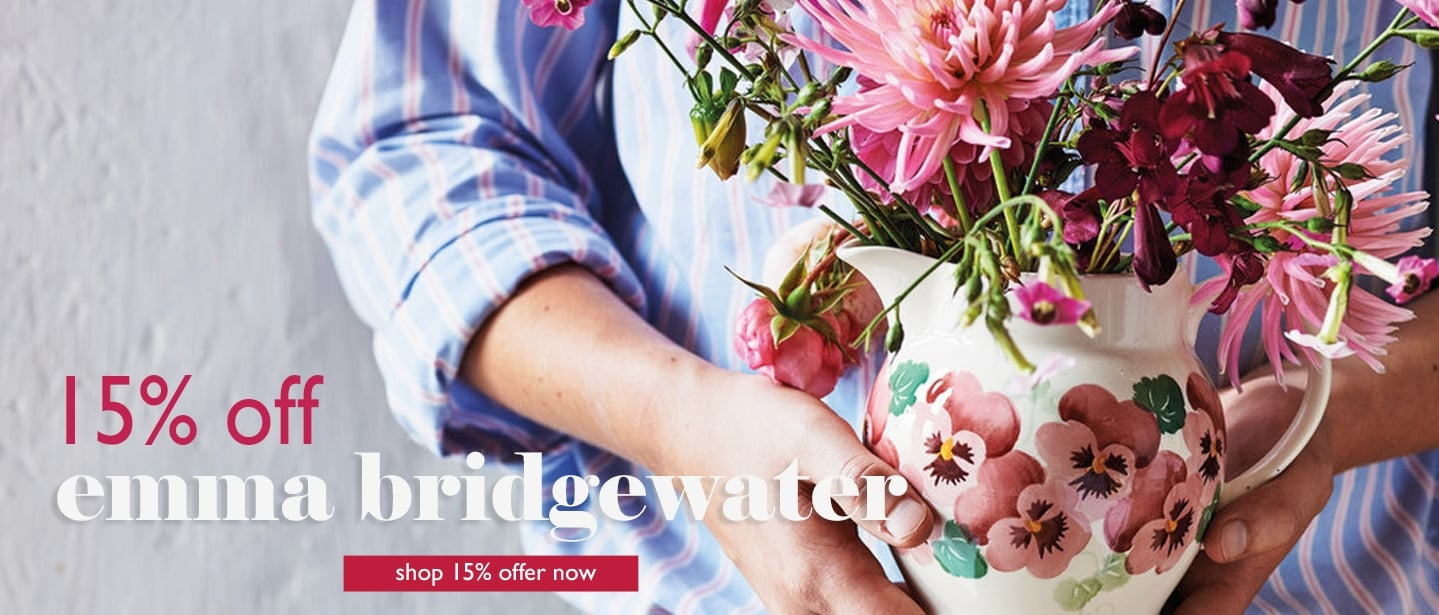 15% off Emma Bridgewater at Cotswold Trading