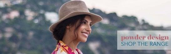 Powder Design - fabulous seasonal accessories for women