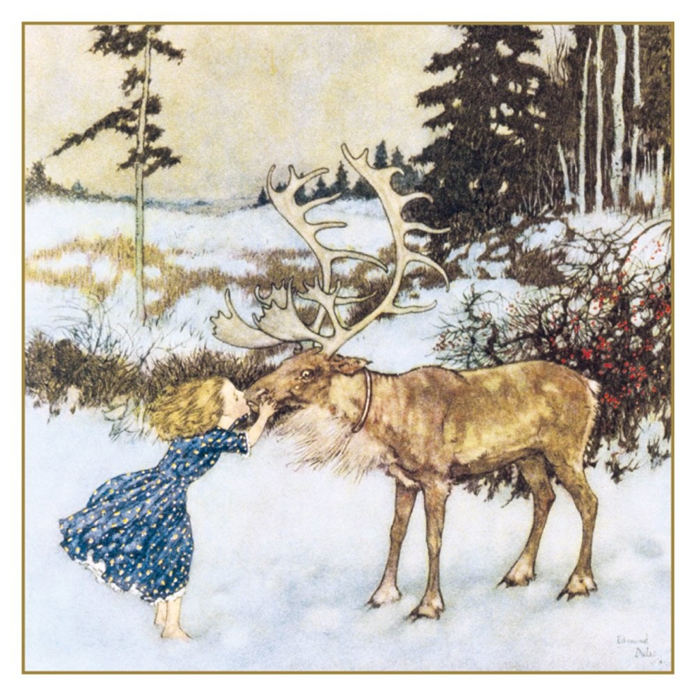 Museums and Galleries Gerda and The Reindeer Pack of 5 Charity ...