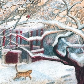 Museums and Galleries Winter Scene Pack of 8 Charity Christmas Cards