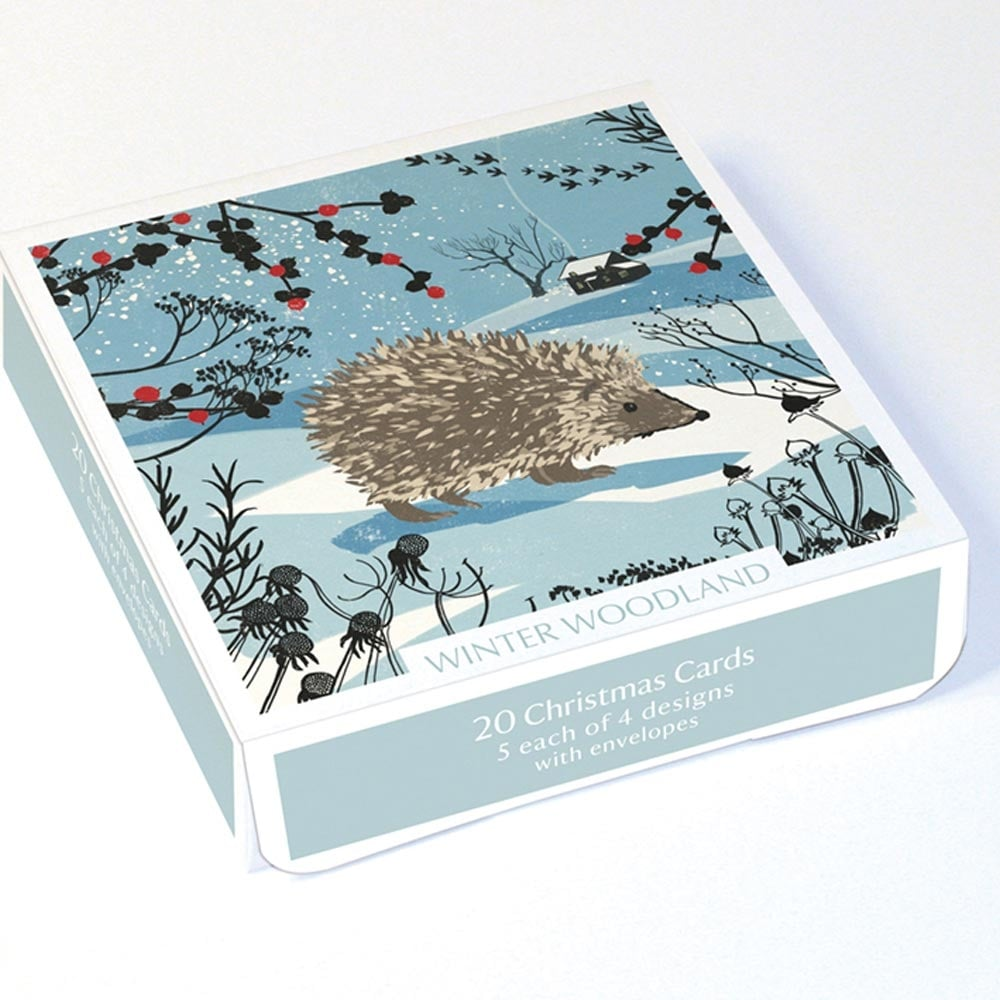 Museums and galleries winter woodland pack of 20 christmas cards m4hsunfo