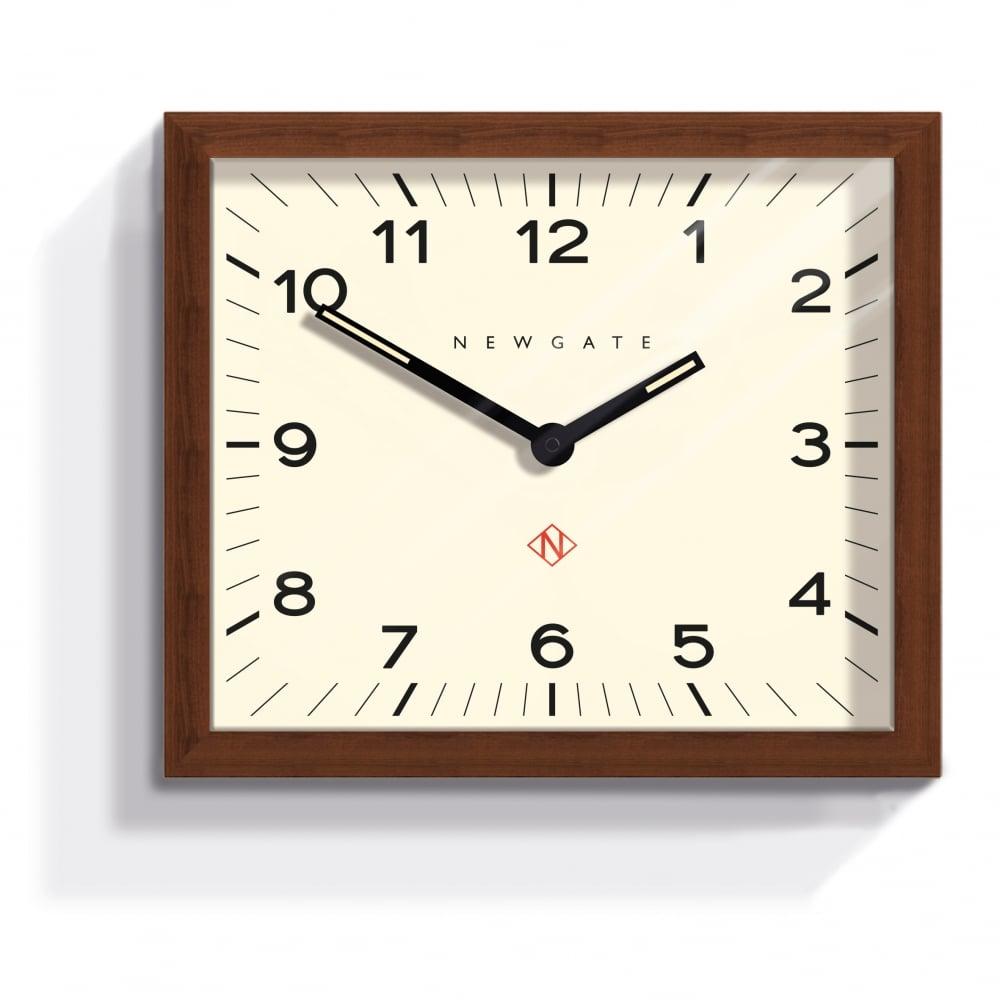 Newgate Mr Davies Clock Dark Wood