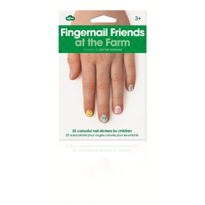 NPW Fingernail Friends At The Farm