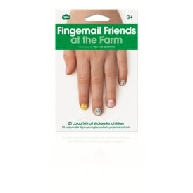 Fingernail Friends At The Farm