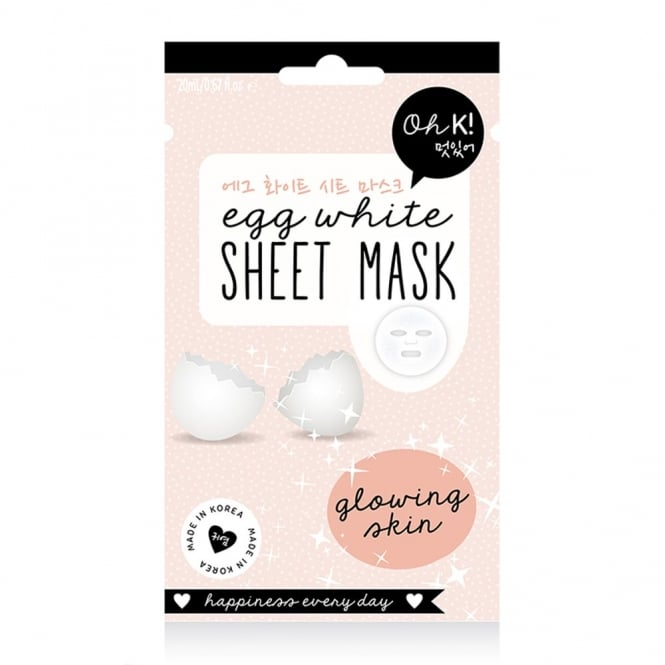 NPW Oh K! Egg White Sheet Mask