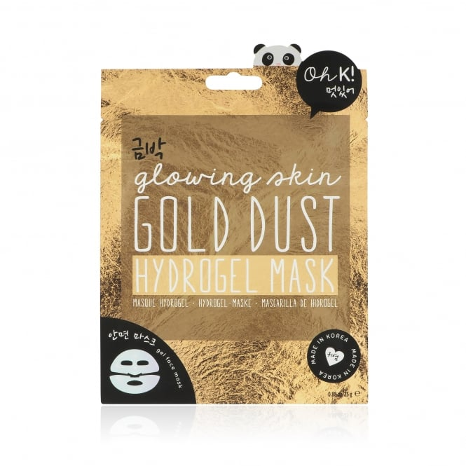 NPW Oh K! Gold Dust Hydrogel Face Mask