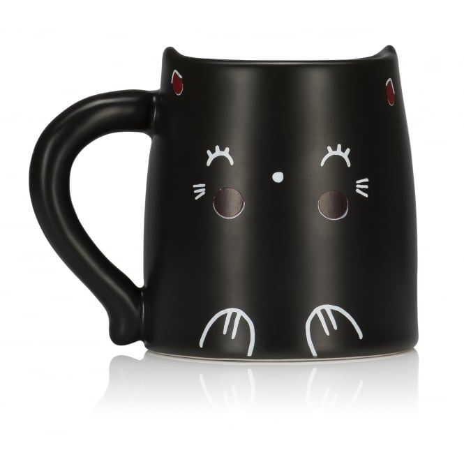 NPW Oh K! Heat Reactive Cat Mug
