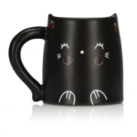 Oh K! Heat Reactive Cat Mug