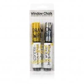 Window Marker Chalk Pen Duo