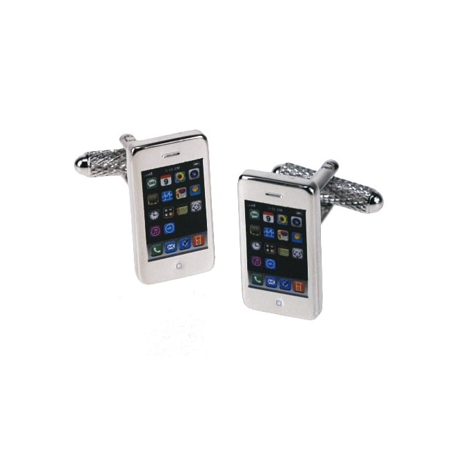 Onyx Art iPhone Cufflinks