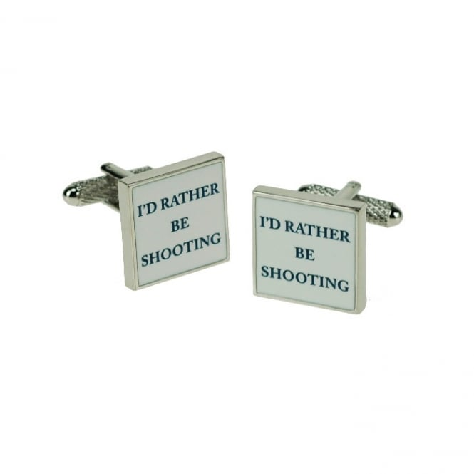 Onyx Art Rather Be Shooting Cufflinks
