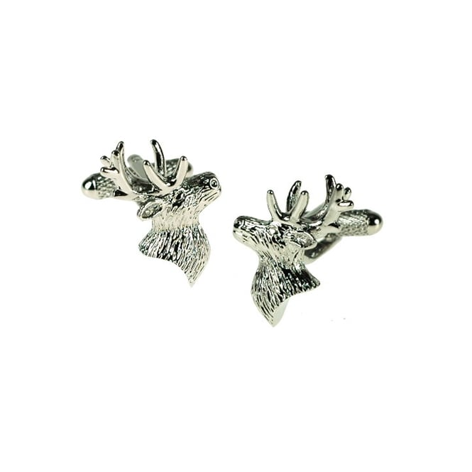Onyx Art Stag Cufflinks