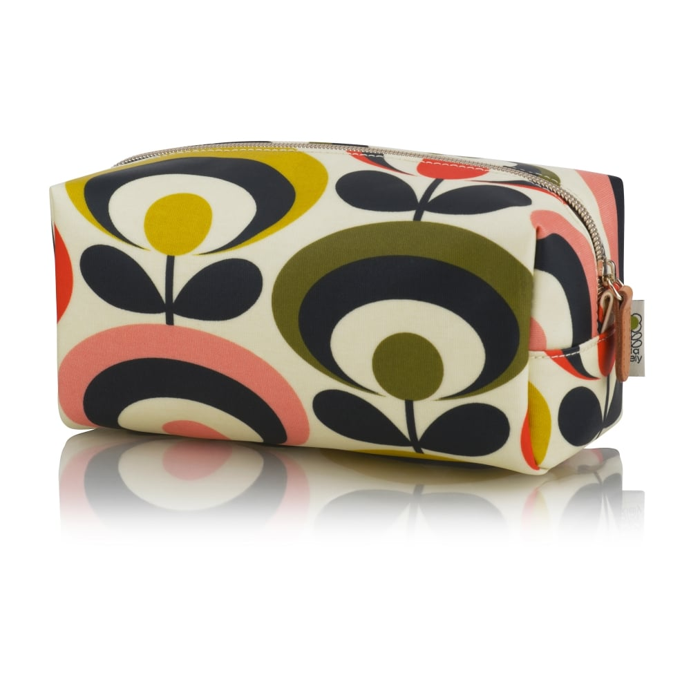Travel In Style This Spring With Orla Kiely S New Dove Print Wash Bag Collection The Striking Is A Relatively Design For