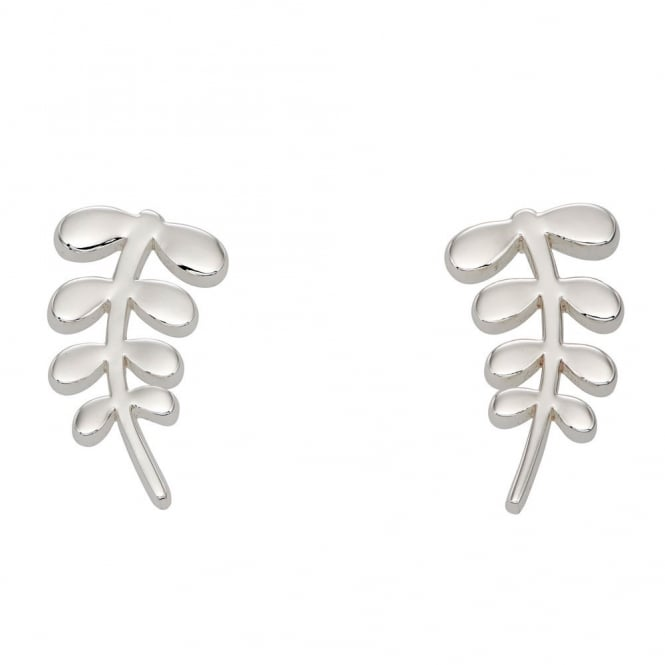 Orla Kiely Buddy Stem Pattern Stud Earrings