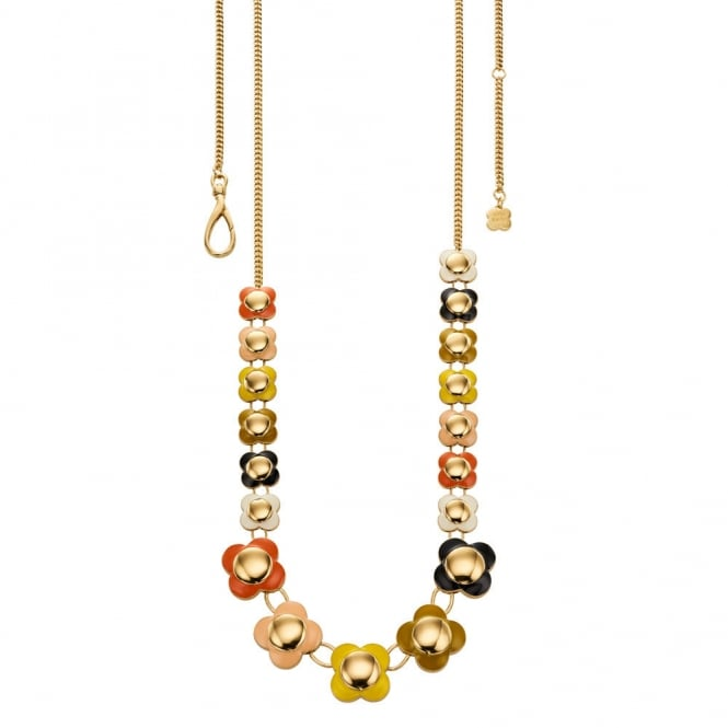 Orla Kiely Daisy Chain Long Flower Necklace