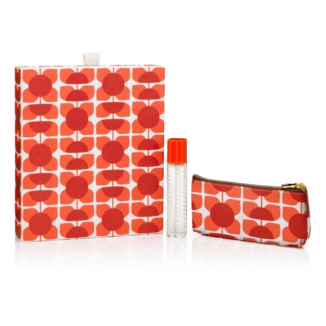 Orla Kiely Geranium Purse Spray Gift Set