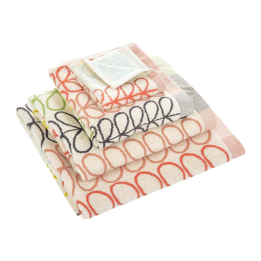 orla kiely linear stem jacquard towels multi. Black Bedroom Furniture Sets. Home Design Ideas