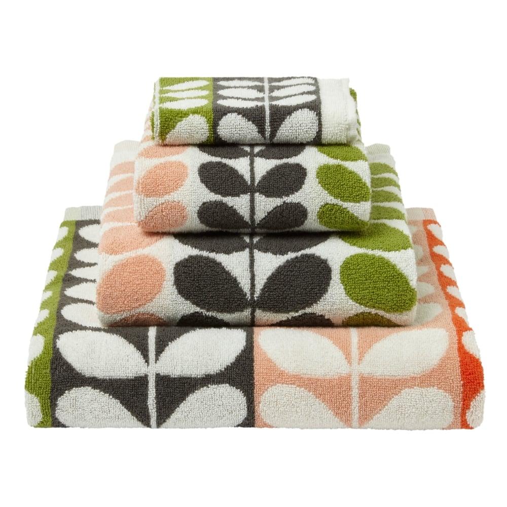 orla kiely multi stem towels classic. Black Bedroom Furniture Sets. Home Design Ideas
