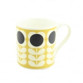 Quite Big Yellow Poppy Stem Mug