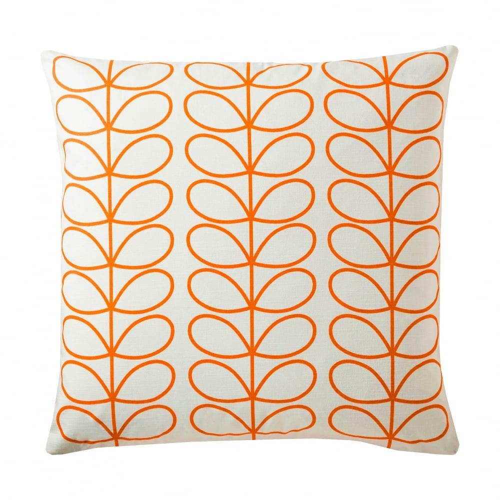 Small Linear Stem Cushion Persimmon