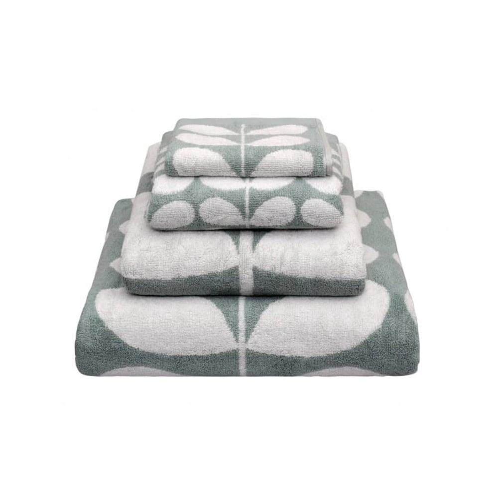 orla kiely stem jacquard towels duck egg. Black Bedroom Furniture Sets. Home Design Ideas