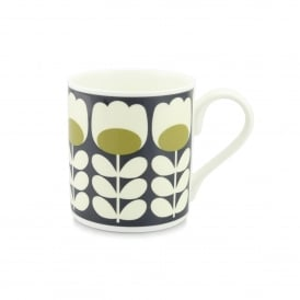 Tulip Stem Green Mug