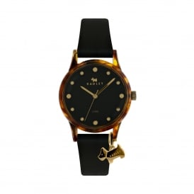 Watch It Brown Silicone Strap Watch