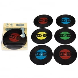 The Modern Man Silicone Record Coasters