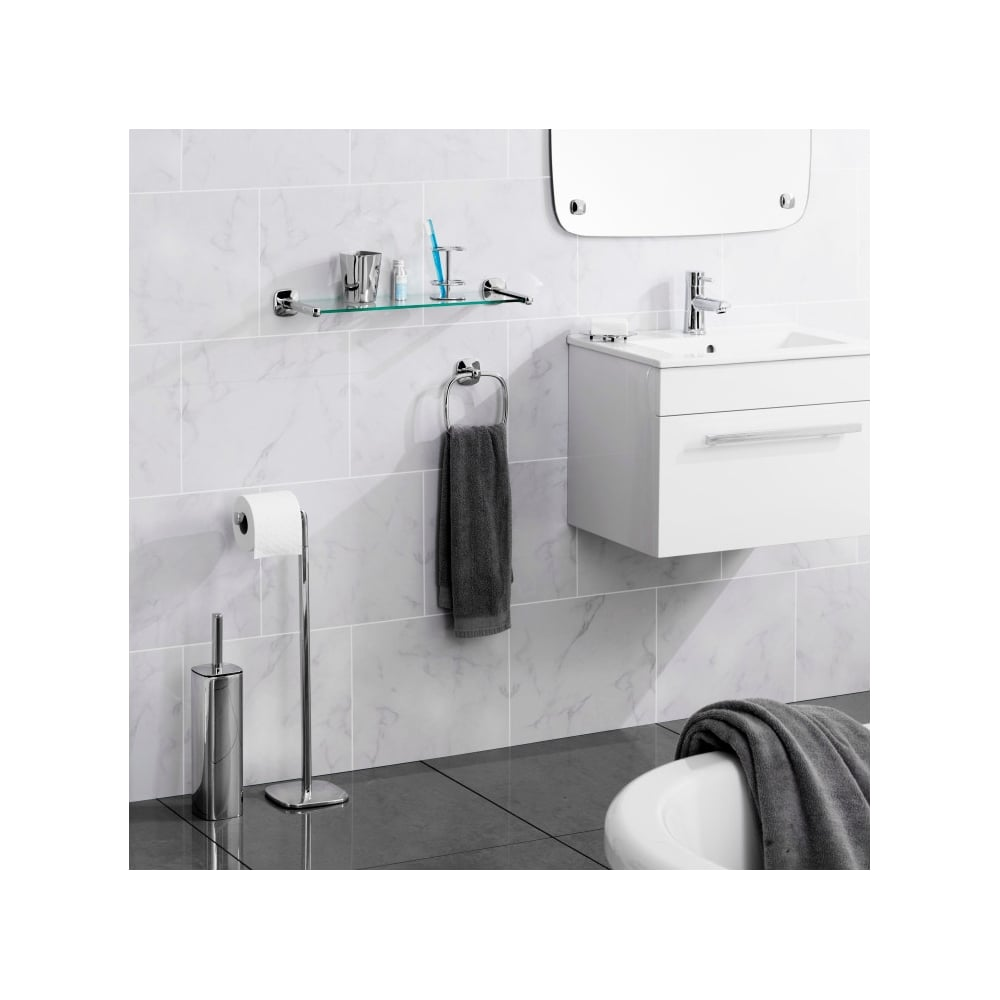 Robert Welch Burford Toilet Brush & Holder