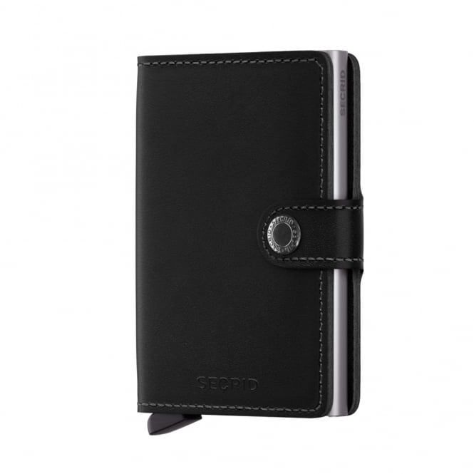 Secrid Leather Miniwallet Original Black