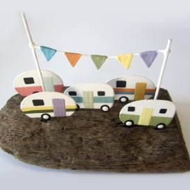 Caravan Park Driftwood Decoration