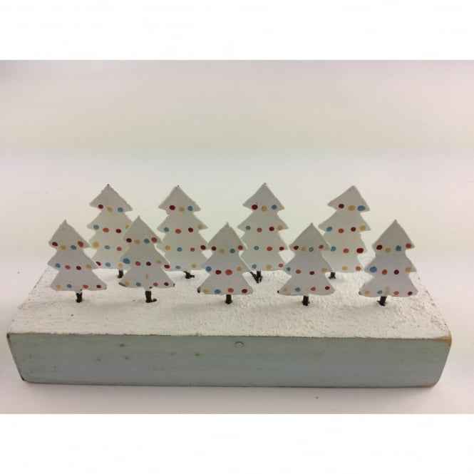 Shoeless Joe Spotty Christmas Trees Decoration