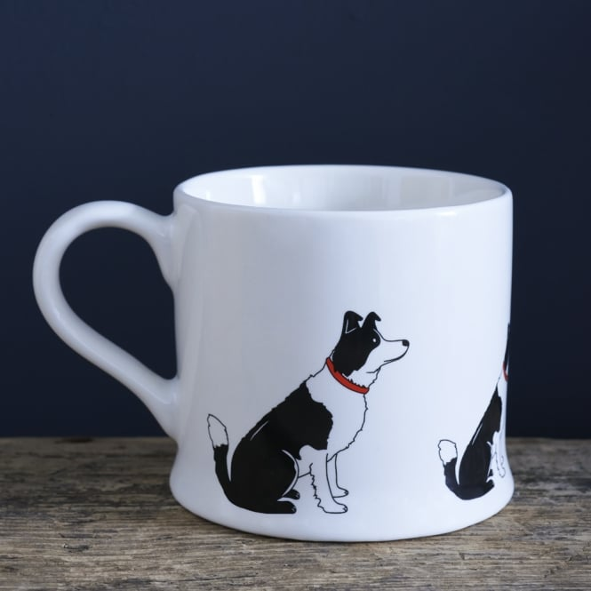 Sweet William Border Collie Mug