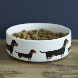 Dachshund Small Dog Bowl