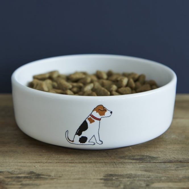 Sweet William Jack Russell Small Dog Bowl
