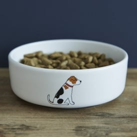 Jack Russell Small Dog Bowl