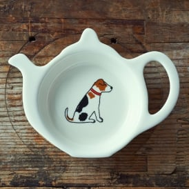 Jack Russell Teabag Dish
