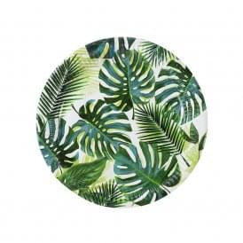 Tropical Palm Paper Plates