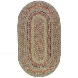 Pampas Oval Jute Braided Rug