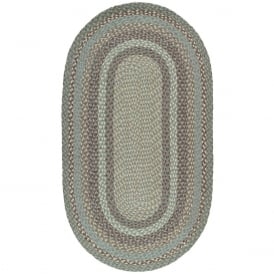 Seaspray Oval Jute Braided Rug