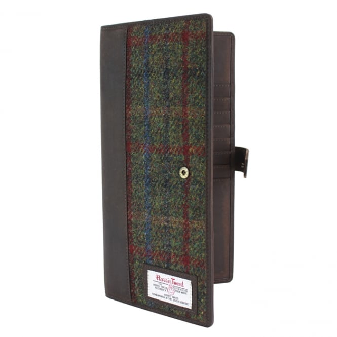 The British Bag Company Harris Tweed Travel Wallet