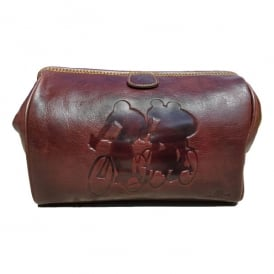 Racers Leather Washbag