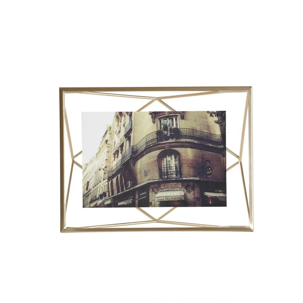 Umbra Prisma 4x6 Frame Matte Brass