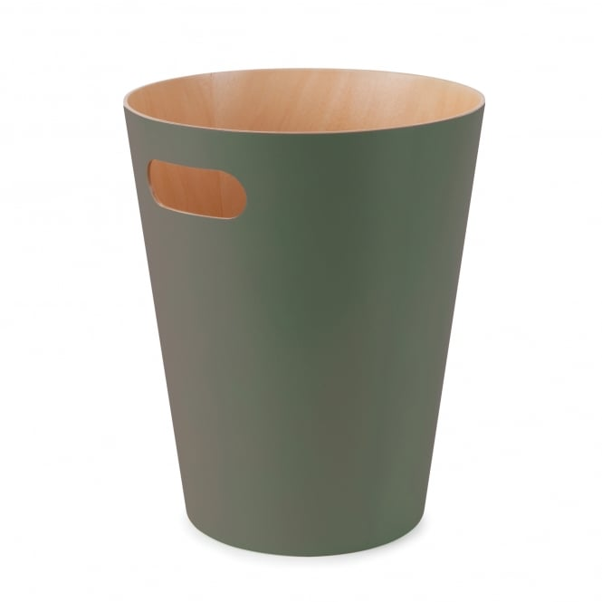 Umbra Spruce Wood Waste Bin
